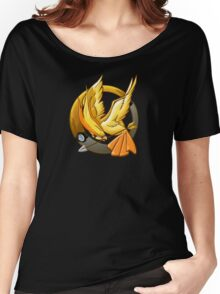 Hunger Phoenix Pokeball Women's Relaxed Fit T-Shirt