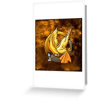 Hunger Phoenix Pokeball Greeting Card