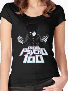 Mob Psycho 100 Women's Fitted Scoop T-Shirt