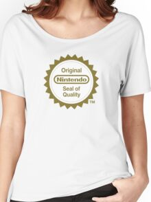 Nintendo Original Seal of Quality Women's Relaxed Fit T-Shirt