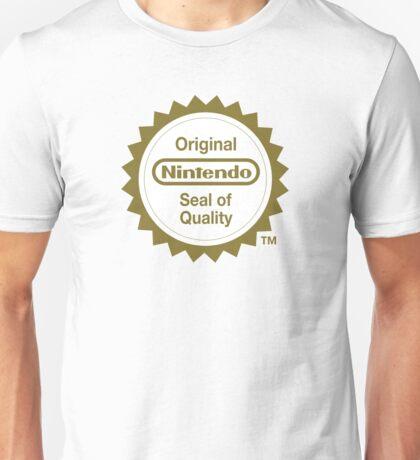 Nintendo Original Seal of Quality Unisex T-Shirt