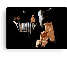 La Duda (the dude) Canvas Print