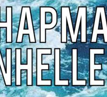 Chapman Panhellenic  Sticker