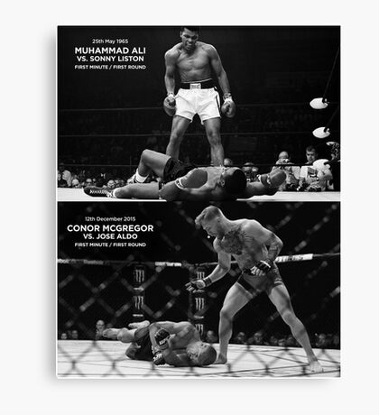 McGregor / Ali Canvas Print