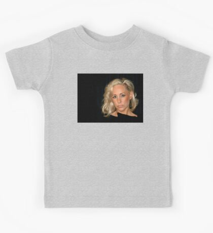Blond Woman Kids Tee