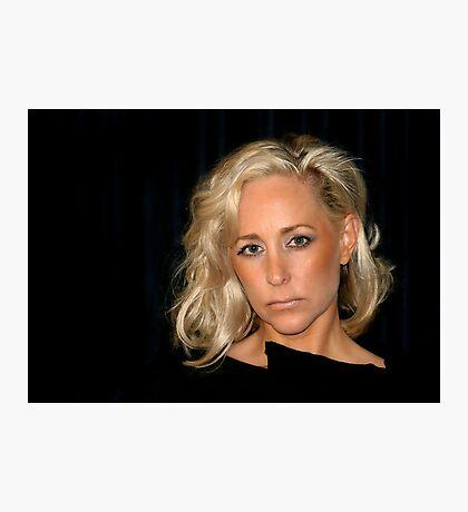 Blond Woman Photographic Print