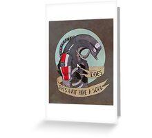 Legion  Greeting Card