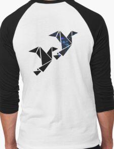 Modern bird Men's Baseball ¾ T-Shirt
