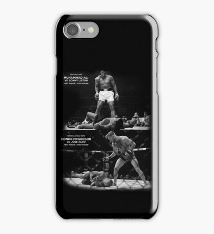 McGregor / Ali  iPhone Case/Skin