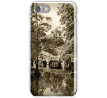 Bayou Bridge Reflection iPhone Case/Skin