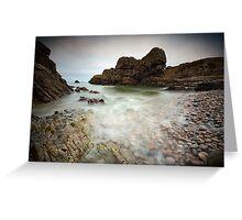 Portnockie Beach Greeting Card