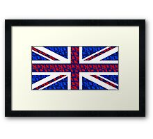 The Silence of the British Framed Print