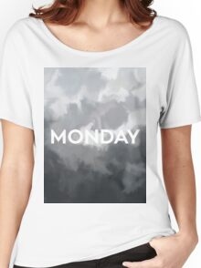 RCA 011 MONDAY Women's Relaxed Fit T-Shirt