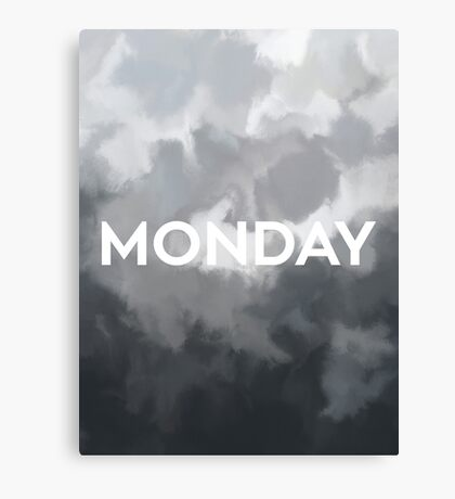 RCA 011 MONDAY Canvas Print