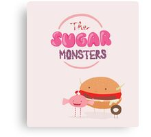 The Sugar Monsters Canvas Print