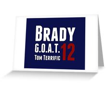 Brady Greeting Card