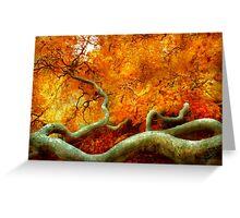 Autumn - Tree - Serpentine Greeting Card