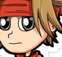 LoD - Legend of Dragoon Dart Red-Eyed Fire Chibi Sticker