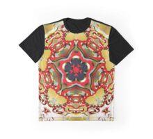 Molecular Rose Graphic T-Shirt