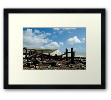 In Retreat Framed Print