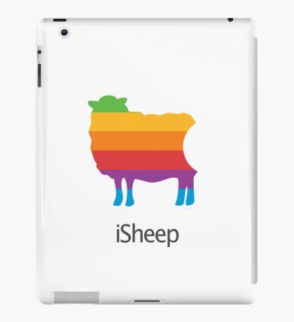 iSheep Apple logo spoof iPad Case/Skin