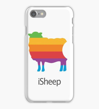 iSheep Apple logo spoof iPhone Case/Skin