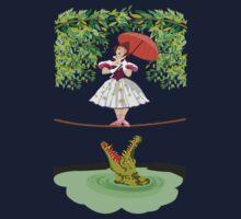 Cute halloween The crocodile girl Deadly circus One Piece - Long Sleeve