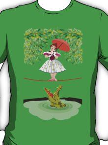 Cute halloween The crocodile girl Deadly circus T-Shirt