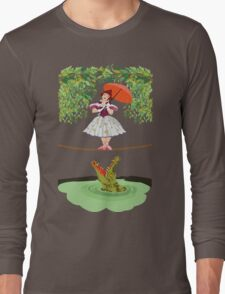 Cute halloween The crocodile girl Deadly circus Long Sleeve T-Shirt