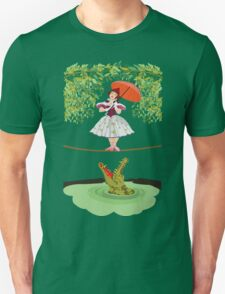 Cute halloween The crocodile girl Deadly circus Unisex T-Shirt