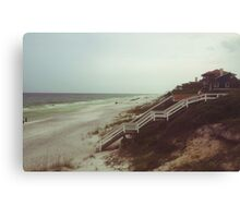 Florida Beach Landscape Canvas Print