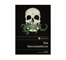 The Necronomicon Art Print