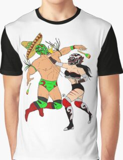 The Great Luchadores Graphic T-Shirt