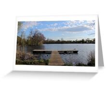 Serenity Dock Greeting Card