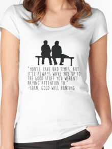Good Will Hunting Women's Fitted Scoop T-Shirt