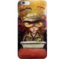 Maintain iPhone Case/Skin