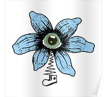 Eye Flower with Shoe Poster