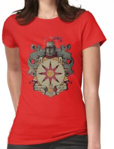 Crest of the sun Womens Fitted T-Shirt
