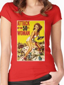 Attack Of The 50ft Woman Women's Fitted Scoop T-Shirt