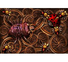 Steampunk - Insect - Itsy bitsy spiders Photographic Print