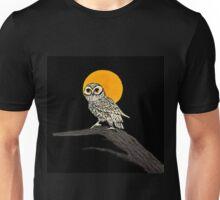 Harvest Moon Owl by IdeaJones Unisex T-Shirt