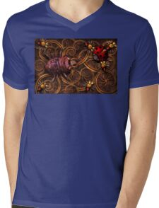 Steampunk - Insect - Itsy bitsy spiders Mens V-Neck T-Shirt