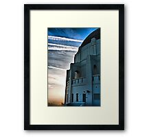 The Griffith Observatory During Sunset Framed Print