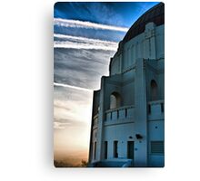 The Griffith Observatory During Sunset Canvas Print