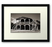 The Wildwest Framed Print