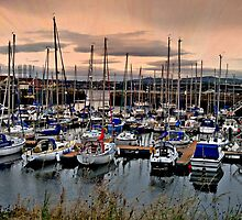 Tayport Harbour by Forfarlass