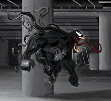 Spider Man- Venom by Jwishard90