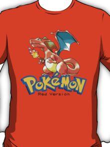 Charizard Red T-Shirt