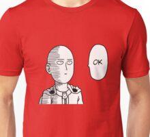 one_punch_man_ok_saitama Unisex T-Shirt