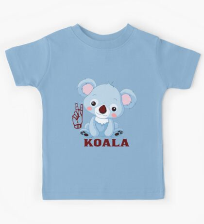 K is for Koala - ASL Kids Tee